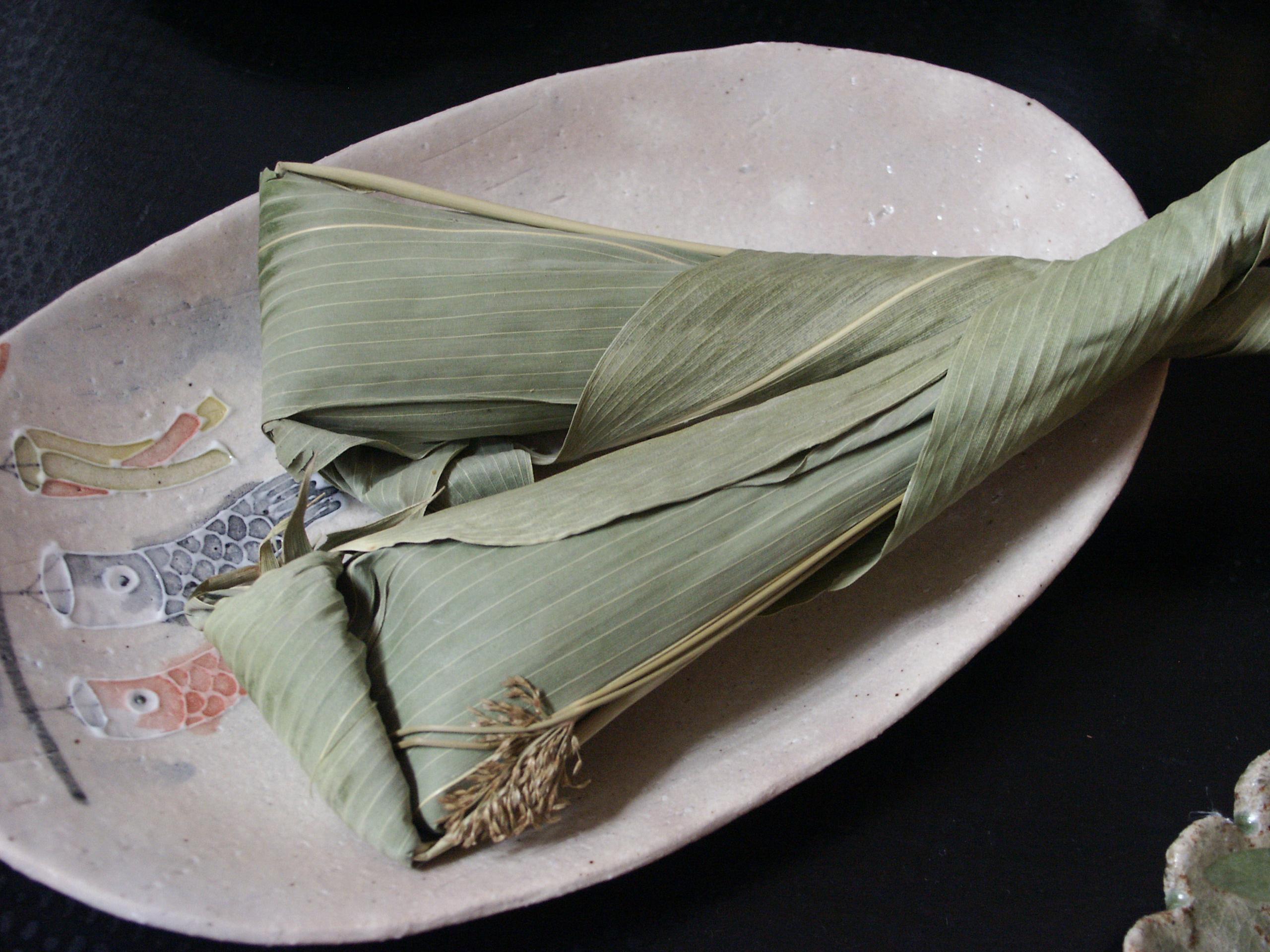 6月9・10日の『ママのための食卓の食育教室』は粽を作ります!