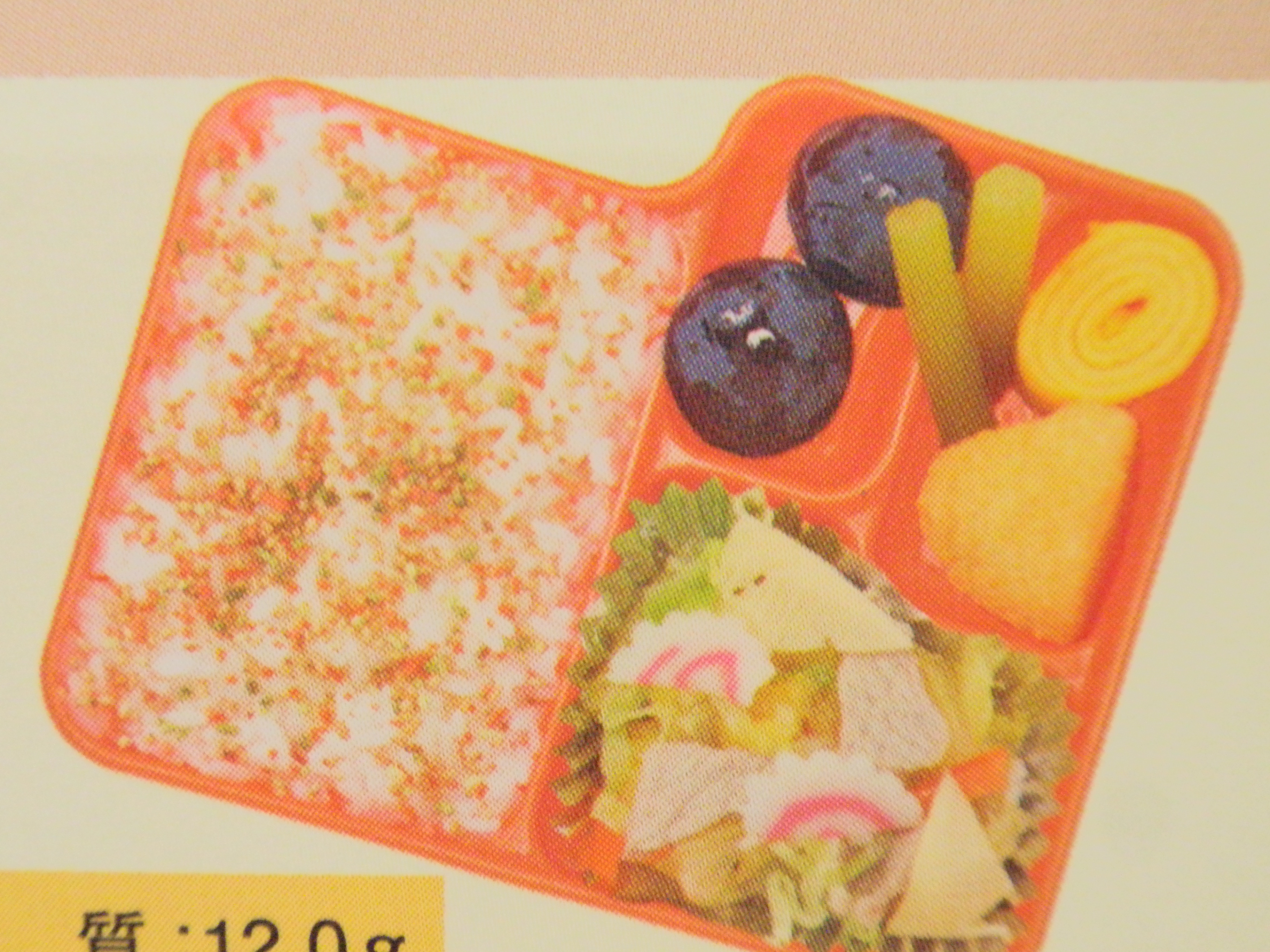 10月17日・19日の幼稚園外部給食弁当