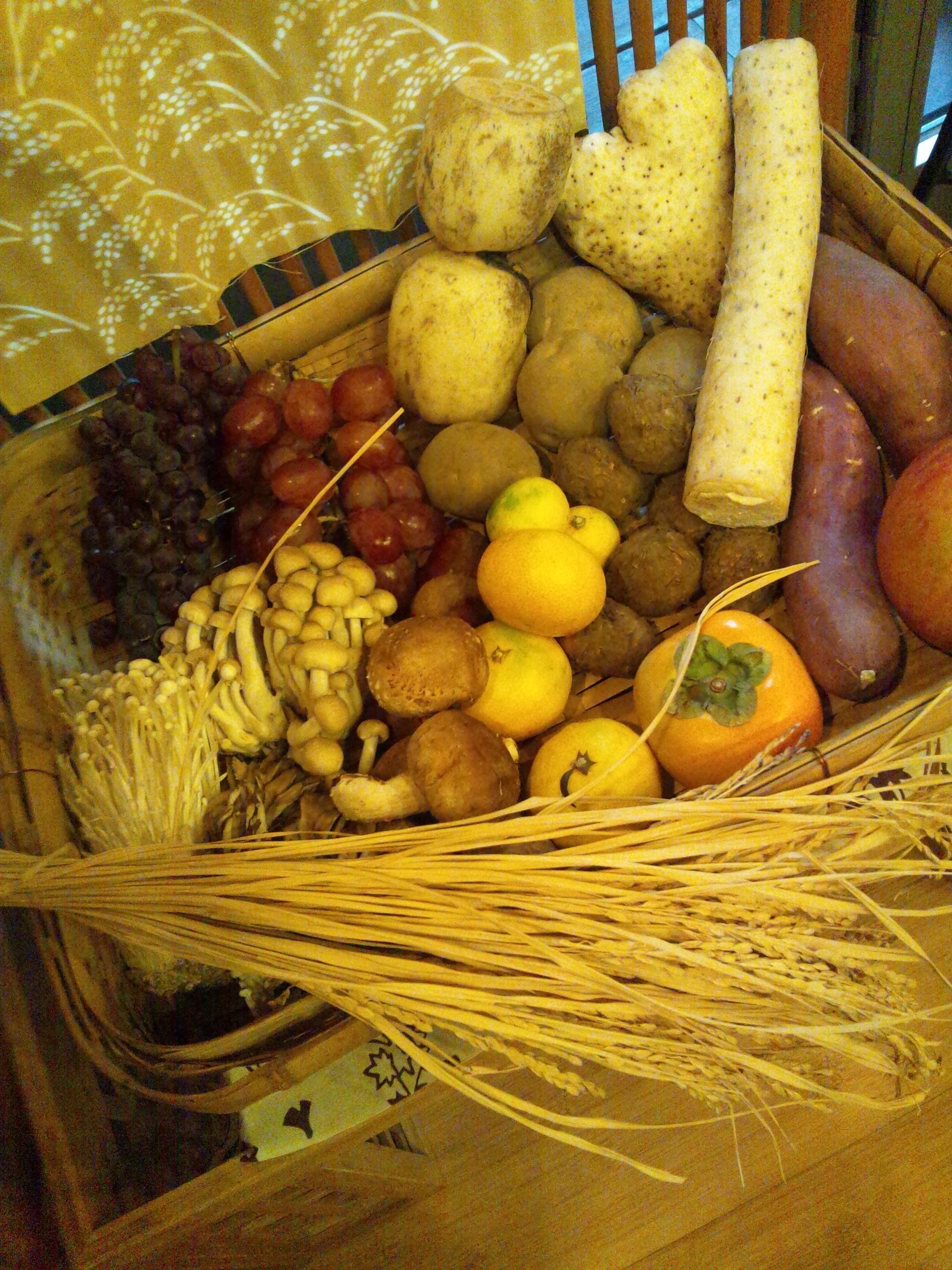 10月5日の『未来のママのための食卓の食育教室』は「秋の旬と、栗ご飯」
