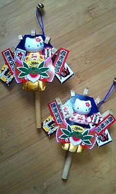 2012・11・20酉の市のキティ熊手.jpg
