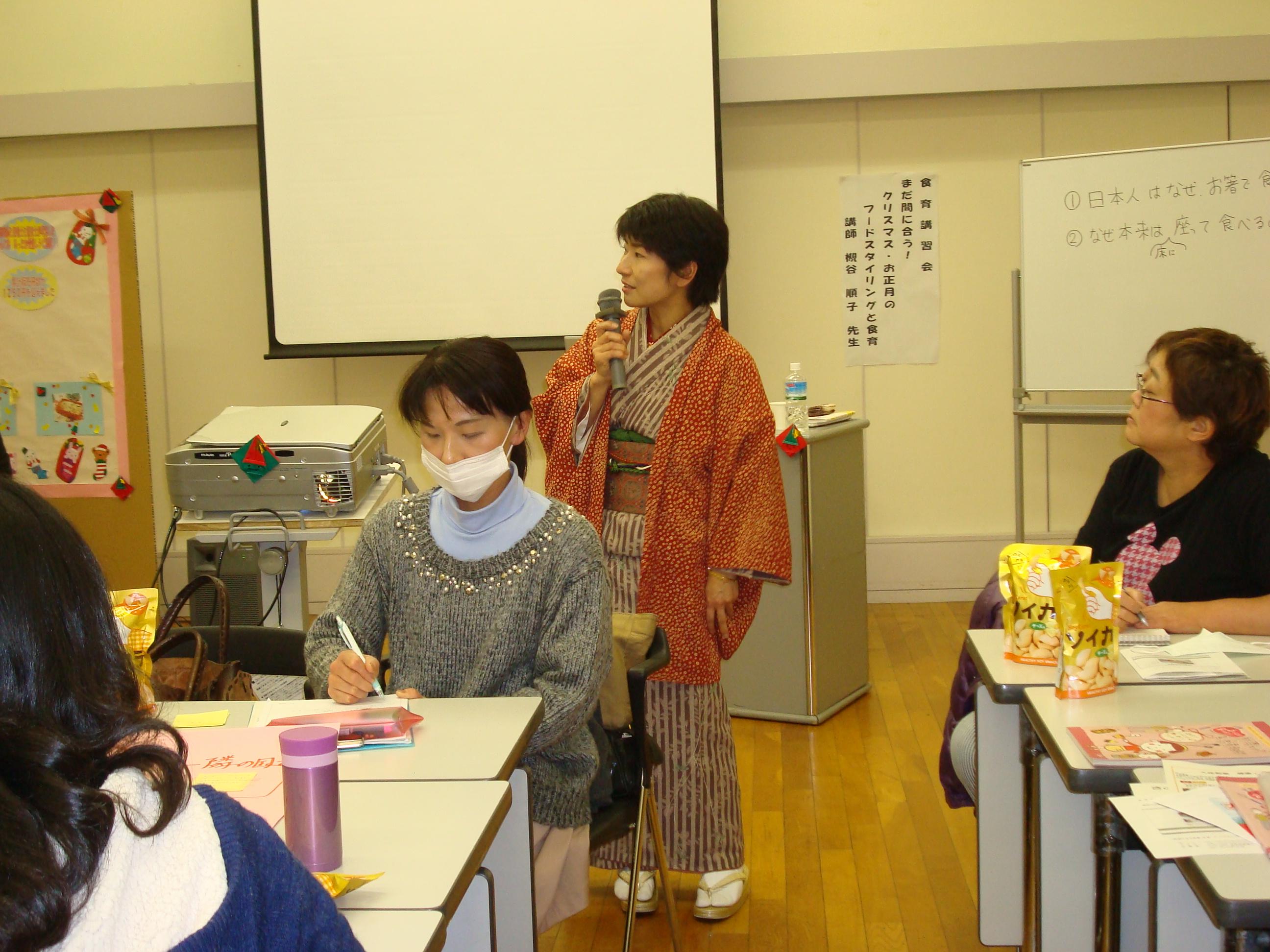 フードスタイリスト日記・墨田区役所で食育の講師!のお話