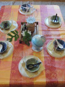 8月の子供料理教室①タピオカココナッツデザート