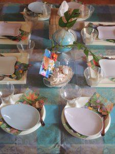 子供料理教室でハワイアンパンケーキ♪アロハ~♫
