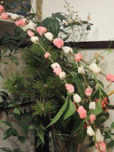新春の小学生の食育は小正月・花餅と冬の旬