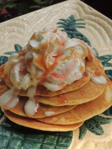 夏休みの子供料理教室④ハワイアンパンケーキ開催しました♪